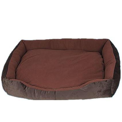 Lienzo rectangular perro de la perrera Medianas perro se puede quitar y lavar mascota nido oro