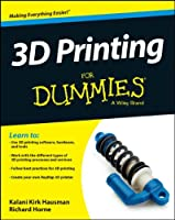 3D Printing For Dummies Front Cover