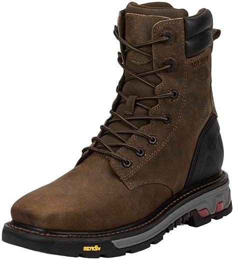 Work Boot Steel Toe Timber 7.5 EE