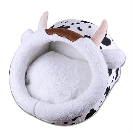 AWQC Cama para Mascotas Mascota Perro Cama Casa Cojín Camas ...
