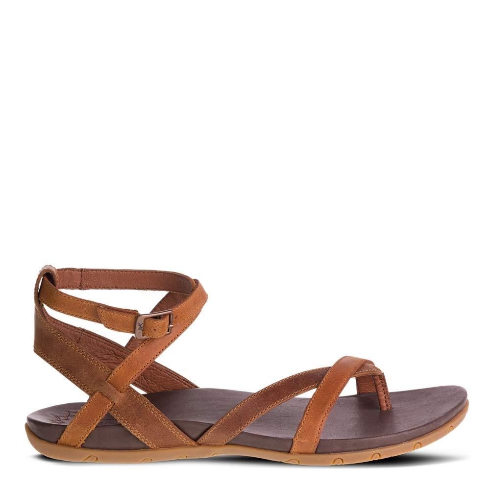 Chaco Women's Juniper Sandal, Rust, 8 Medium US by Chaco