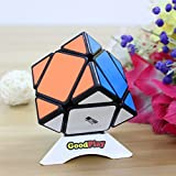 GoodPlay QIYI mofangge MFG Skewb Speed Cube Puzzle sticker Black(+One Customized tripod)