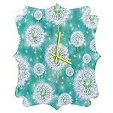 Deny Designs  Lisa Argyropoulos, Wishes, Quatrefoil Clock, Medium