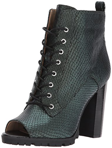 Katy Perry Women's The The Monica Ankle Boot, Forest Green, 8 Medium US