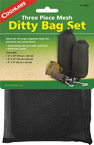 Coghlans Stuff Bag (Coghlan's Three Piece Mesh Ditty Bag Set)