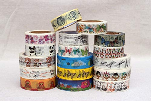 Free DHL Shipping Each Design MOQ 200pcs Custom Printed Make Washi Tape China Custom Logo Printing