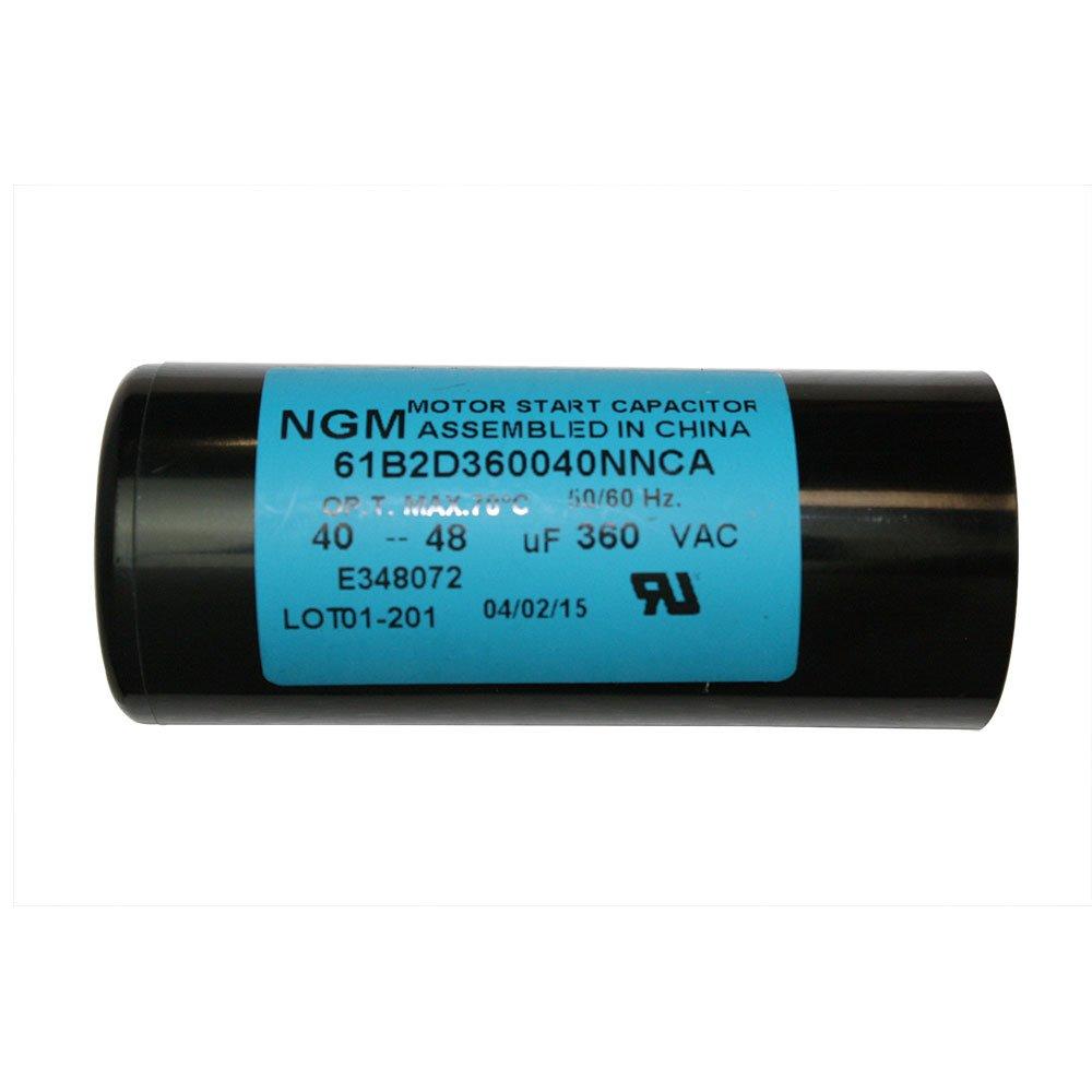 CD60 //-5/% 50Hz//60Hz AC 250V Cylinder Motor Starting Capacitor Superior Electric CMC7013 60-72 MFD