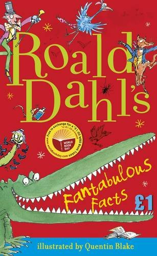 book cover of Roald Dahl\'s Fantabulous Facts