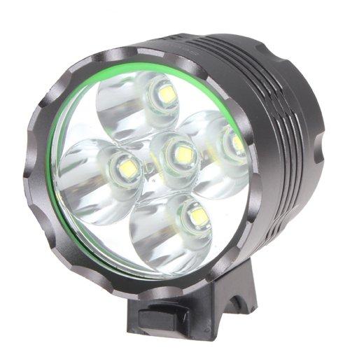 3 Modes 7000 Lumen 5x Cree XML T6 LED Cycling Front Bicycle Bike Light Headlight Headlamp Head Light Lamp
