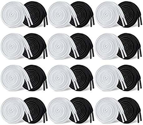 Replacement Drawstrings 48inch Drawstring for Sweatpants Shorts Hoodies 24Pcs