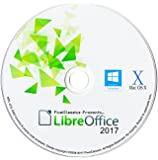 LibreOffice 2017 Professional, Business, Home & Student - Word & Excel Compatible Software for PC Microsoft Windows 10 8.1 8 7 Vista XP 32 64 Bit & Mac OS X - Full Program with Free Updates!