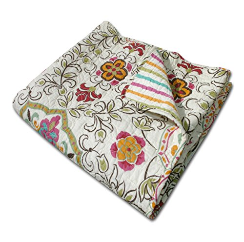 Greenland Home Esprit Spice Quilted Throw