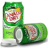 Canada Dry Ginger Ale Diversion Safe Stash Can
