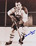 Dickie Moore Signed Photo - Canadians 8x10 Hall of Famer - PSA/DNA Certified - Autographed NHL Photos