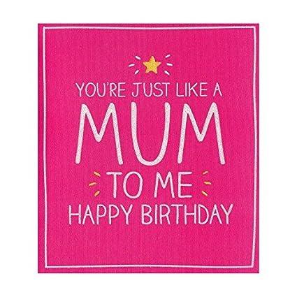 Feliz cumpleaños como una mamá: Amazon.es: Oficina y papelería