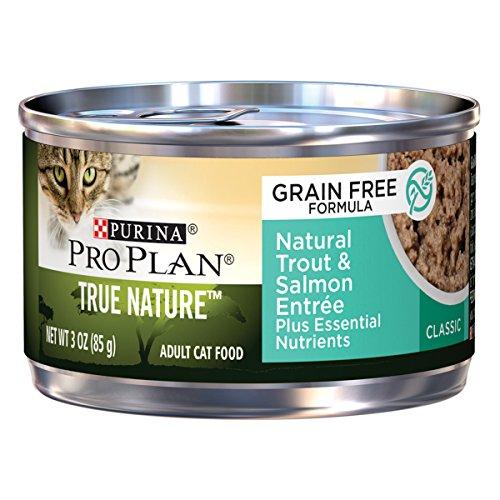 Purina Pro Plan Wet Cat Food, True Nature, Natural Grain Fre