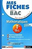 Mes fiches ABC du BAC Maths Term ES.L