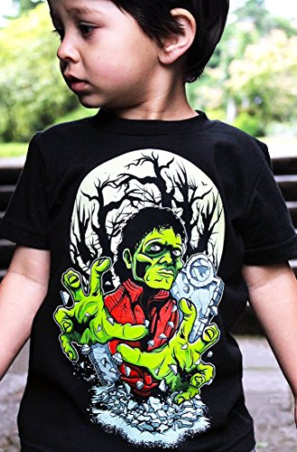 Hatch For Kids Thriller Tee by Michael Jackson Thriller Shirt - Children's Clothing 2T-12 by Hatch For Kids (Image #1)