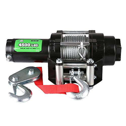 OFFROAD BOAR ATV/UTV Steel Cable Electric Winch 4500lbs/2041kg (H)