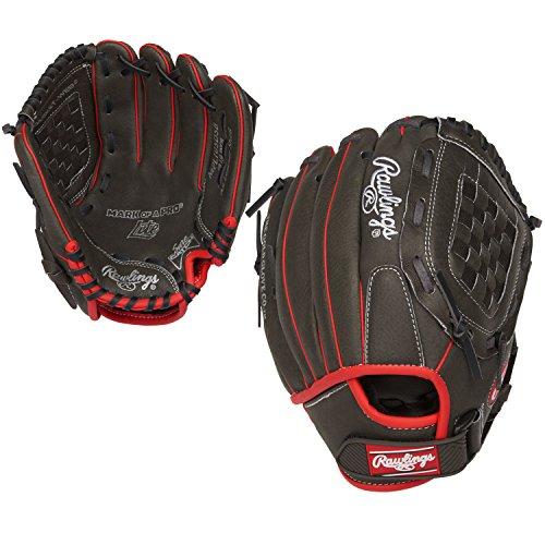 Rawlings Mark of a Pro Light Youth Baseball Glove, Regular, Basket-Web, 10-1/2 Inch ()