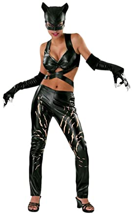 Ultimate Halloween Costume UHC Womenu0027s DC Comics Catwoman Fancy Dress Halloween Themed Party Sexy Costume  sc 1 st  Amazon.com & Amazon.com: Ultimate Halloween Costume UHC Womenu0027s DC Comics ...