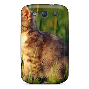 Galaxy S3 Case, Premium Protective Case With Awesome Look - Cute Kitten
