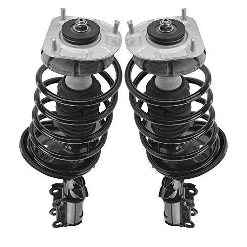 (Front Complete Shock Strut Spring Assembly Driver Passenger Pair for S60 V70 S80)