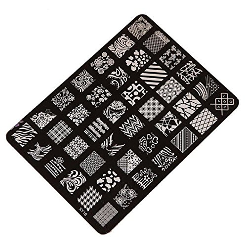 Stamping Printing Plate Manicure Nail Art Decor 14.5x10.5cm - 8