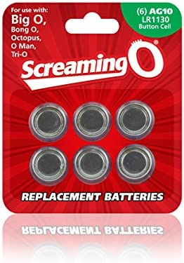Screaming O Size Ag-10 Batteries