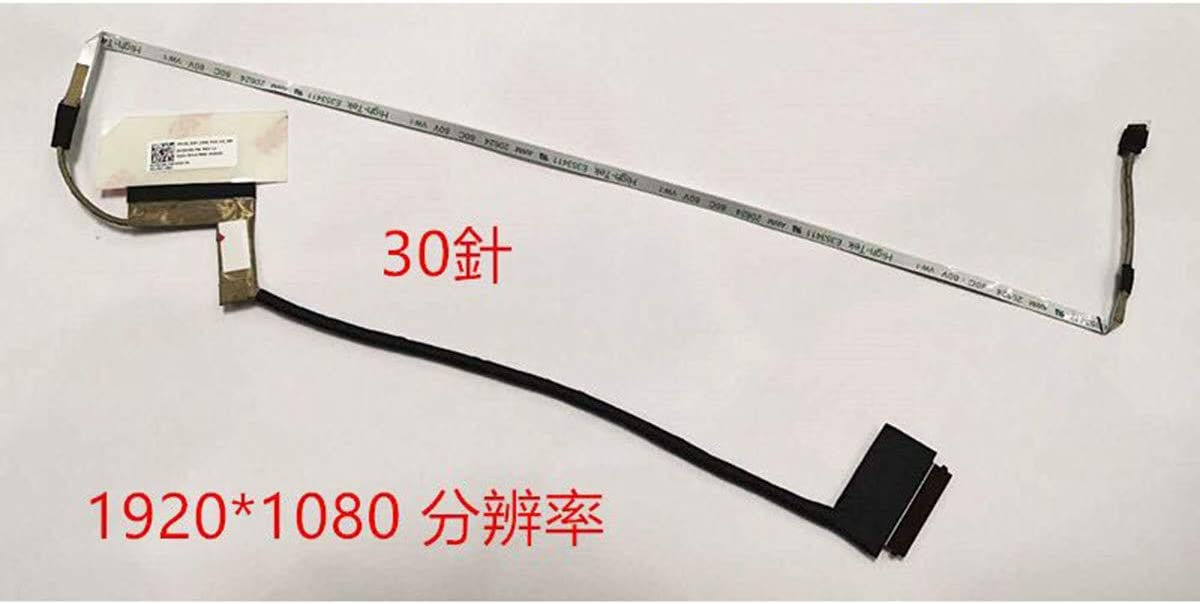 LhyParts New for HP Pavilion Gaming 15-dk TPN-C141 LCD Cable DC02C00LY00 30PIN