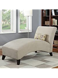 Chaise lounge for Bella chaise dark brown