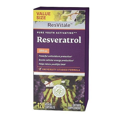 ResVitle Resveratrol 250 mg 120 Veggie Capsules