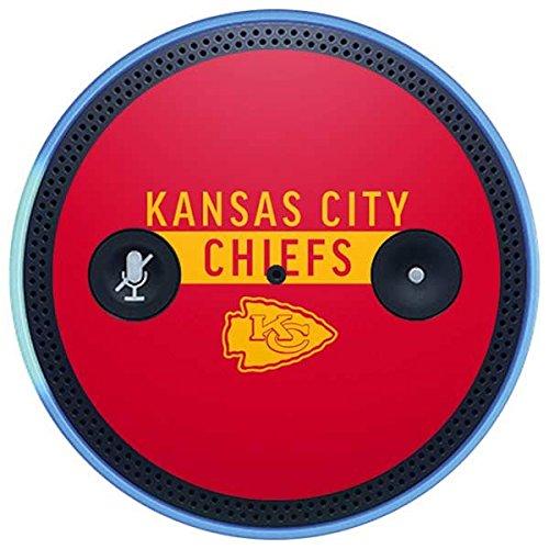 Skinit NFL Kansas City Chiefs Amazon Echo Plus Skin - Kansas City Chiefs Red Performance Series Design - Ultra Thin, Lightweight Vinyl Decal Protection