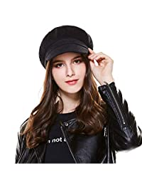 Kajeer Floppy Berets Corduroy Newsboy Cap for Women
