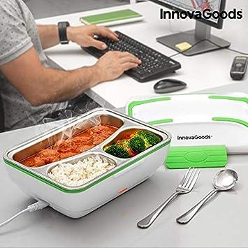 Gka Elektrische Lunchbox Essenwärmer Lunch Box Infrarot Mit Besteck