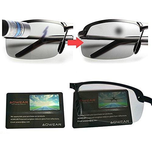 Unisex Premium 100 Protección De UV Adulto Sol Gafas Polarizadas qtfax