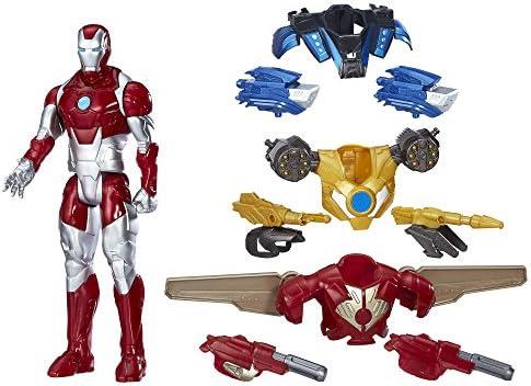Avengers Marvel Titan Hero Series Iron Man Combat Pack: Amazon.es ...