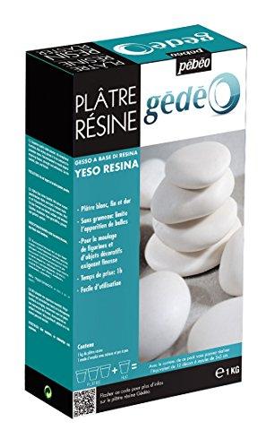 Pébéo 766313 Gédéo Boîte Coulage Plâtre Résine 1 kg
