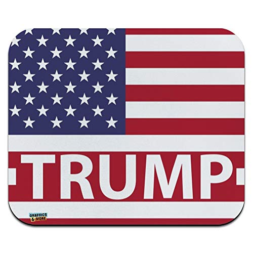 President Trump American Flag Low Profile Thin Mouse Pad Mousepad