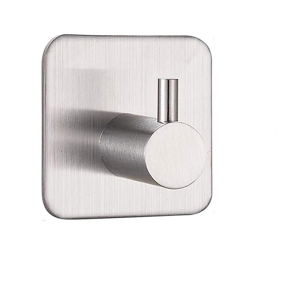 Strong Adhesive Hooks,Ulifestar Heavy Duty Stick On Sticky 3M Hooks/Key Hooks/Coat Hooks/Towel Hooks/Wall Utility Hooks for Bathroom,4 Pack