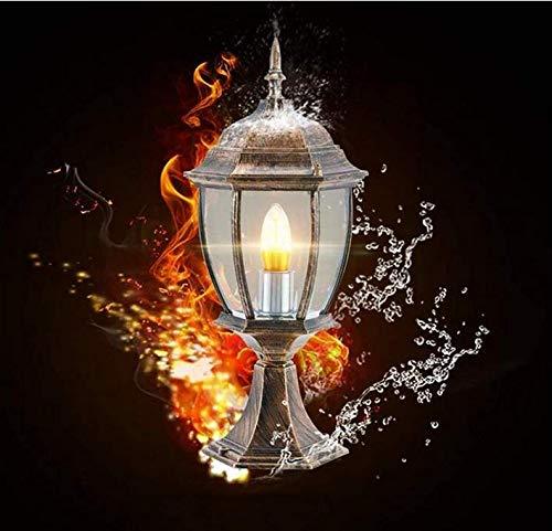 Kronleuchter Wandleuchte Tisch Lampe27 Pfosten Säule Licht Moderne Kreative Retro Industrie Spalte Lampe Laterne Licht Hof Tor Zaun Garten Landschaft Beleuchtung Fixture