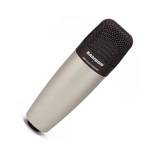2 opinioni per SAMSON C01 microfono iper-cardioide a diaframma largo con bauletto per trasporto