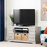 South Shore 12329 Fitcher Stand for TVs up to 65'-Seaside Pine