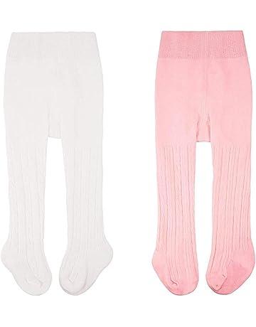 Toddler Baby Girls Tights Kid Kint Cotton Leggings Stocking Stripe Pantyhose 3 Pack 6M-12T