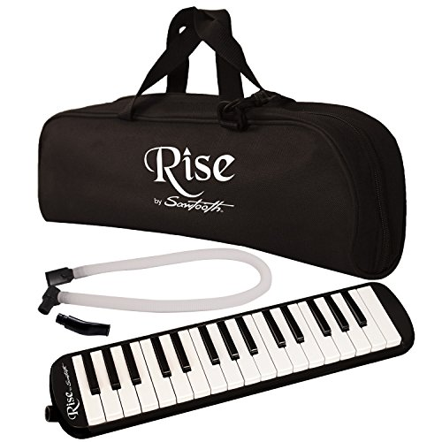 Rise by Sawtooth ST-RISE-MEL-32-BLK - Melodica, color negro