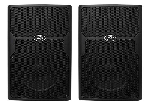 """(2) Peavey PVXP15DSP 15"""" Powered Active DJ/PA Speakers w DSP and 128dB SPL!"""
