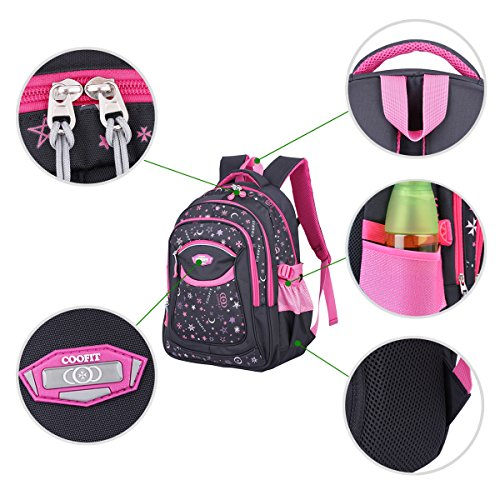 Coofit School Backpack For Girls Boys Back To School Supplies For