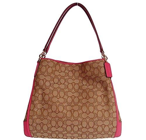 Coach Signature Phoebe Tote Carryall Handbag Shoulder Bag
