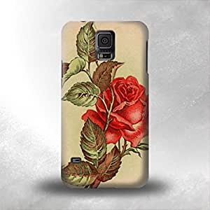 taoyix diy American Beauty Tattoo - Samsung Galaxy S5 i9600 Back Cover Case - Full Wrap Design