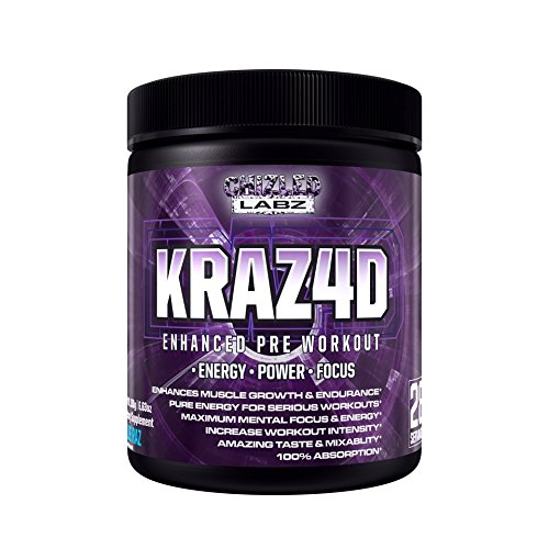Best Pre Workout KRAZ4D Enhanc...